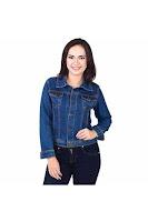 Alfacart Jaket Jeans Simply Bluewash ANDHIMIND