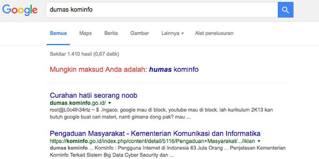 Google Mau Diblokir,