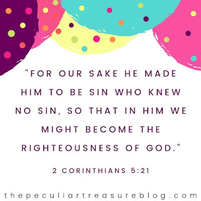 Bible verse, 2 Corinthians 5:21, English Standard Version