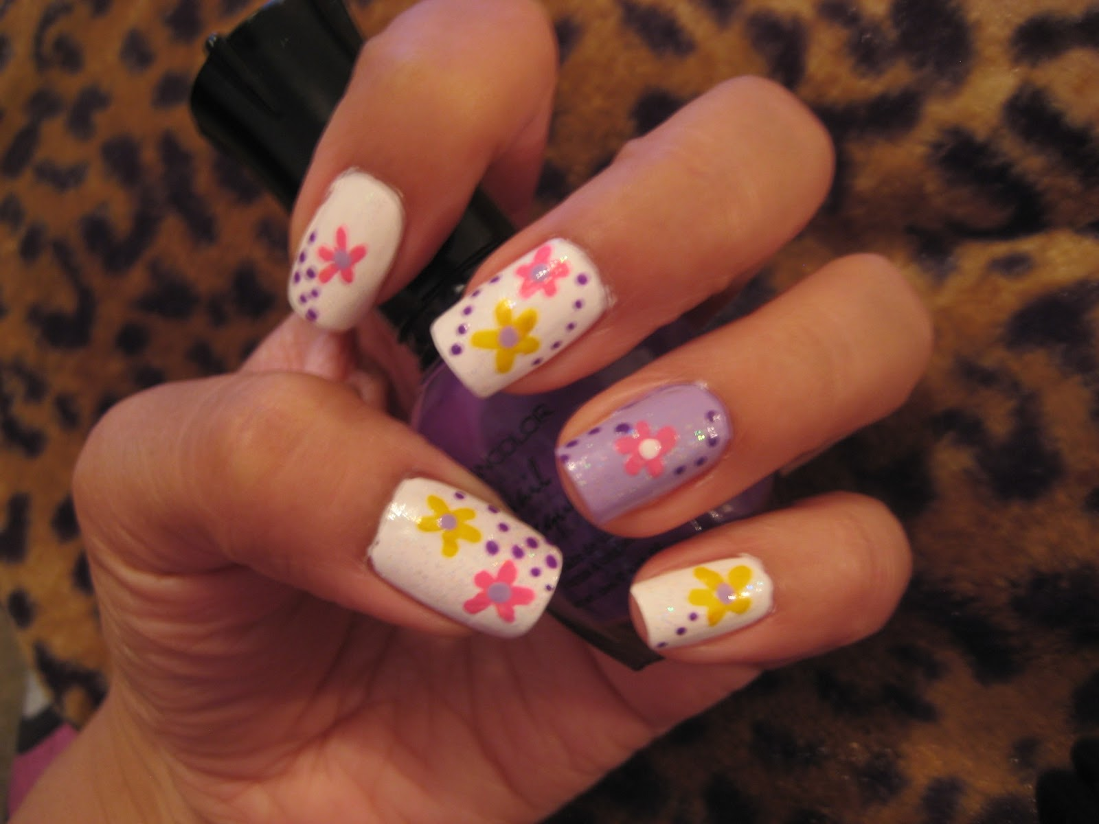 5 Finger Discount: Cute Holiday Nail Art on a budget: Easy ...