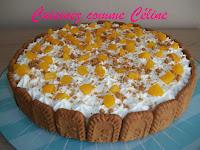 http://cuisinezcommeceline.blogspot.fr/2015/06/bavarois-peche-speculoos.html