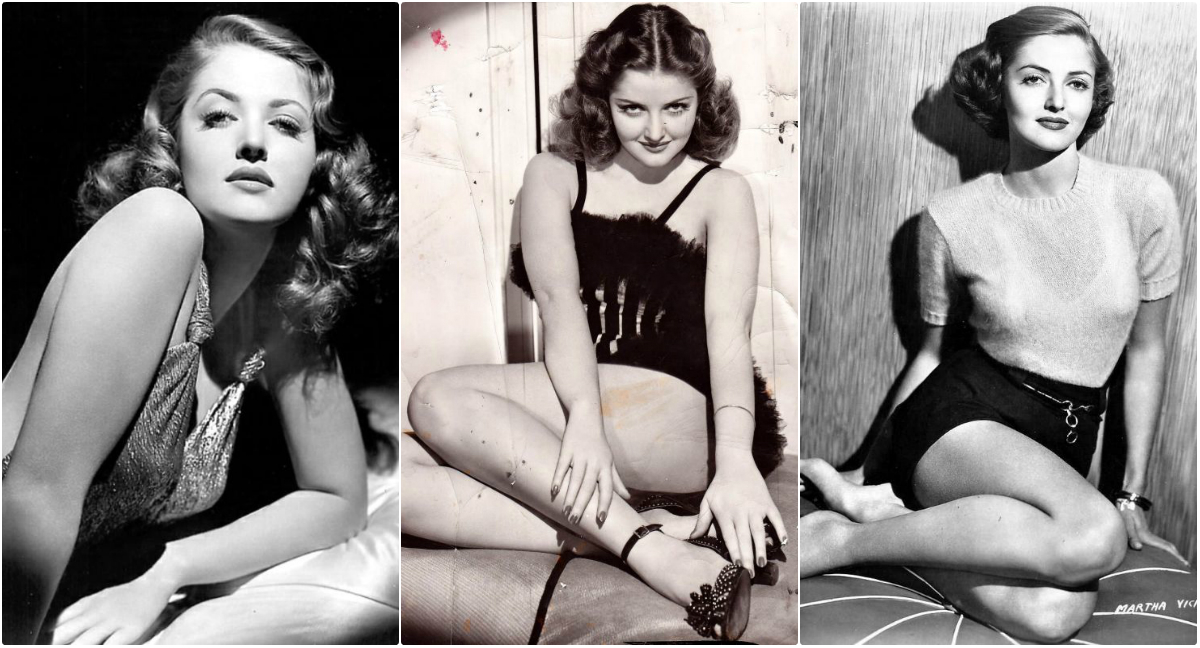 Glamorous Photos of Martha Vickers in the 1940s ~ Vintage Everyday