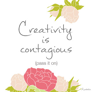 Creativity is contagious, Anabelia Craft Design
