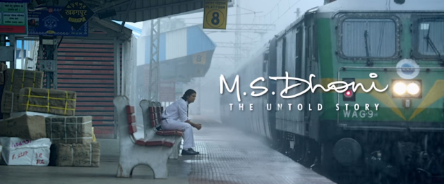 Sushant Singh Rajput in the from M. S. Dhoni: The Untold Story.
