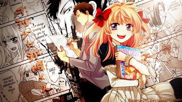 Gekkan Shoujo Nozaki-kun un romance mangaka