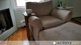 DIY Sofa Armrest Table