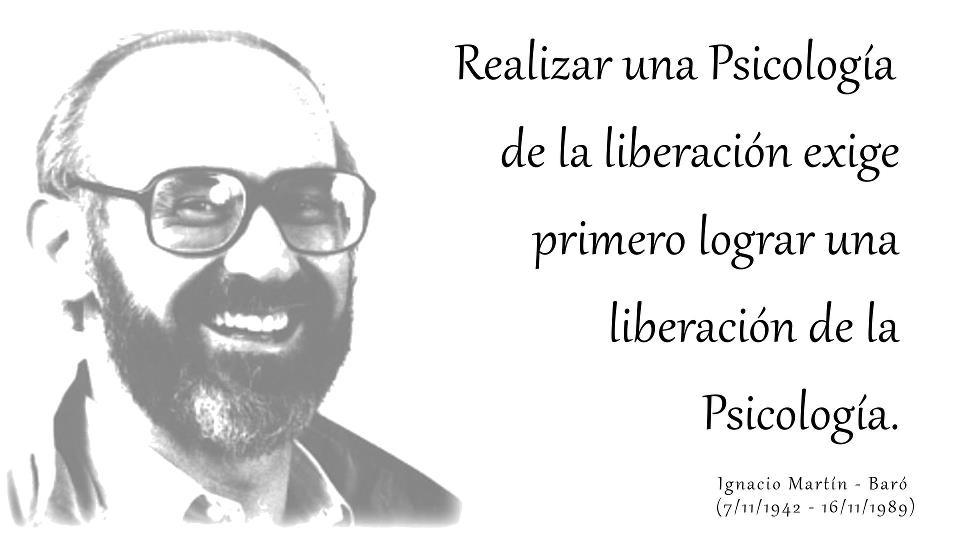 Psicología Social En Acción Frases De Ignacio Martín Baró