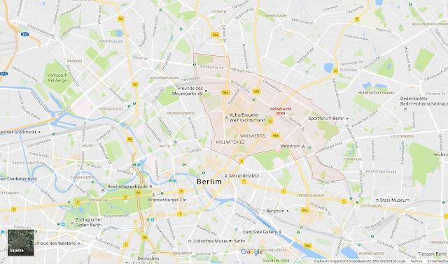 bairro Prenzlauer Berg em Berlim