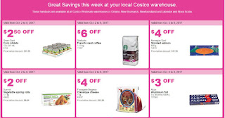 Costco Great Deals Valid Mon Oct 2 – Sun Oct 8, 2017