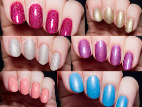 Girly Bits Indie Nail Polish via @chalkboardnails