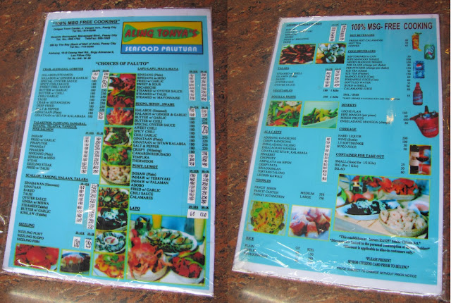 FTW! Blog, www.zhequia.com, #FTWblog, Aling Tonya's Seafood Palutuan, #Seafood, #Food, #AlingTonyas, #AllingTonyasAlabang