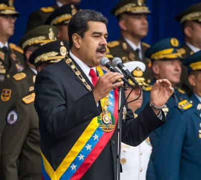 Venezuelan President Nicolas Maduro survives assassination attempt