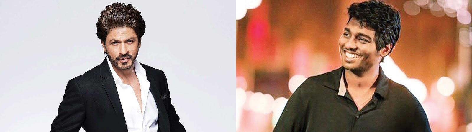Bollywood Super Star Shah Rukh Khan in talks for 'Mersal' remake