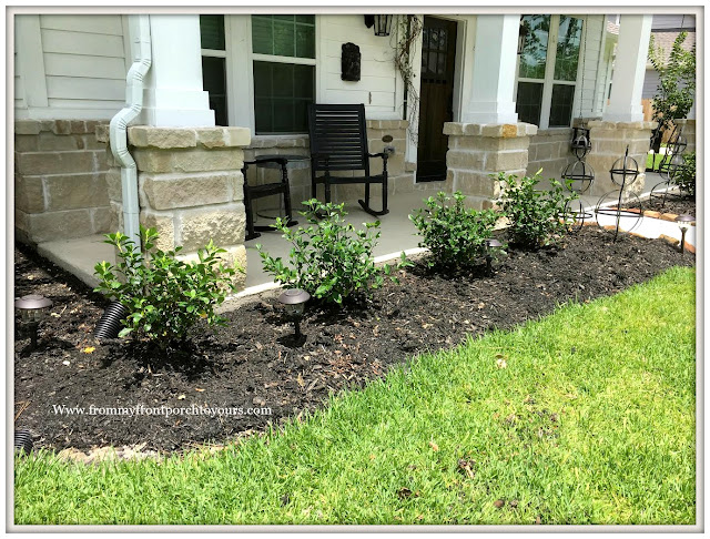 Landscape-Gardenias-Shrubs-Curb Appeal-From My Front Porch To Yours
