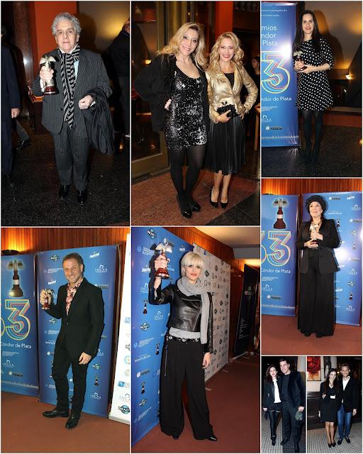 Se realizó la 63º entrega de los Premios Condor de Plata al cine nacional