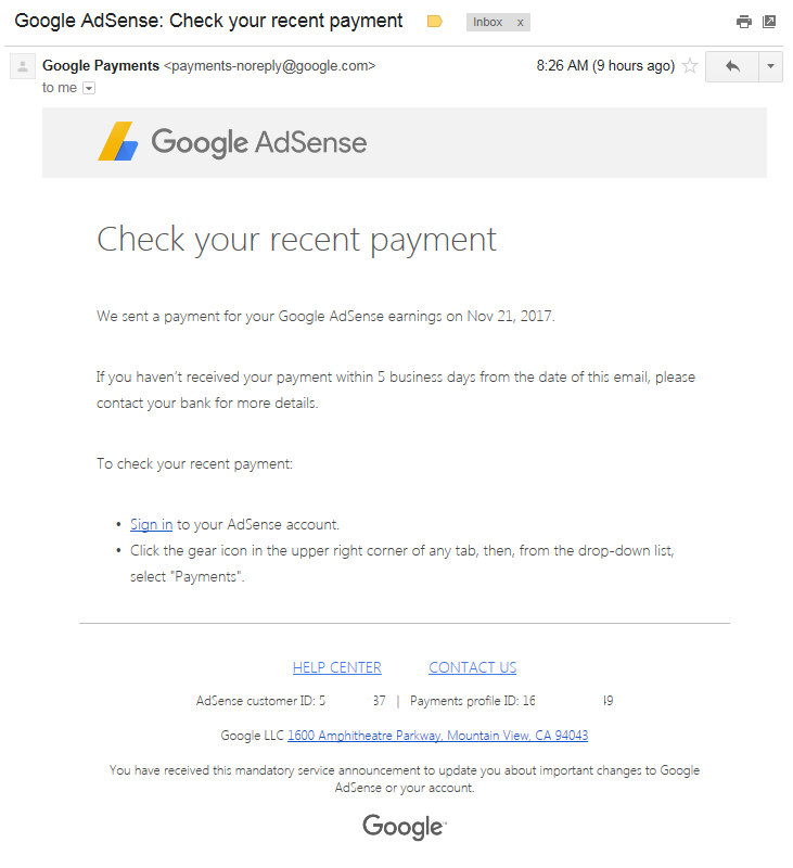 How To Claim Your Google Adsense Payment Via Western Union