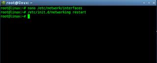 service network-manager restart