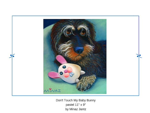 Don't Touch My Baby Bunny by Minaz Jantz