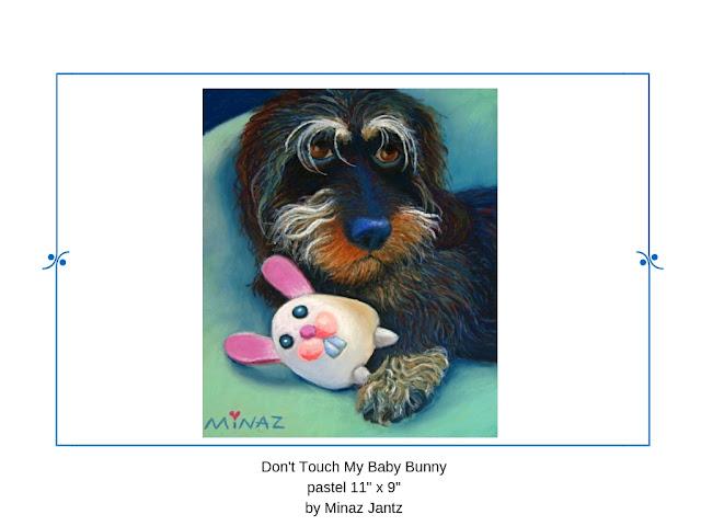 Don't Touch My Baby Bunny by Minaz Jantz