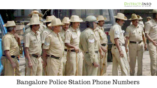 Bangalore Police Stations Phone Numbers