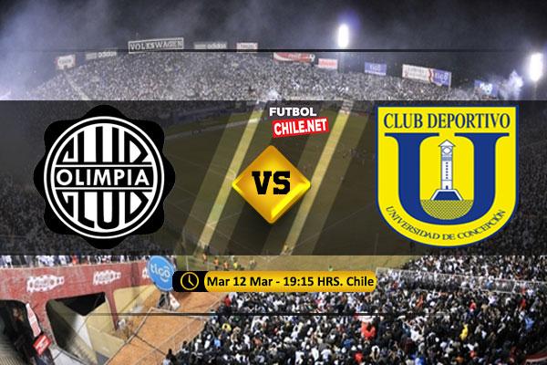 PREVIA: Olimpia vs Universidad de Concepción