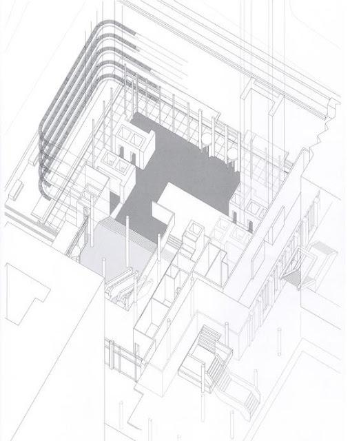 Torre del Banco Bilbao en Madrid | Sáenz de Oiza | Planta + secciones + detalle fachada