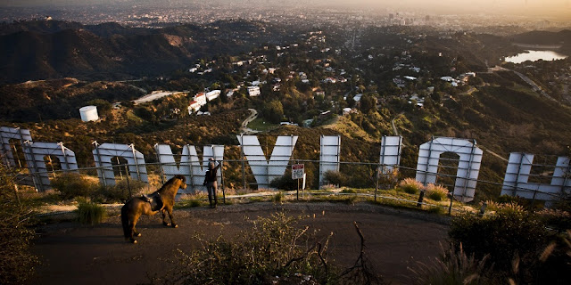 Vista do Griffith Park em Los Angeles