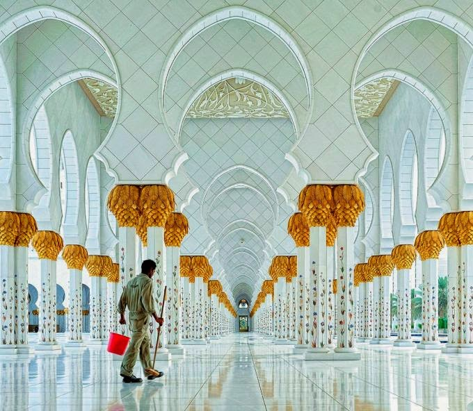 CIOB, The Art of Building 2014, Sheikh Zayed Grand Mosque, by Hoang Long Ly
