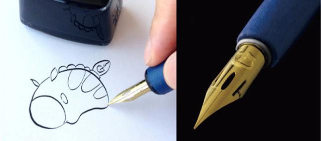 contoh alat gambar G-Pen