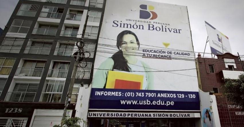 SUNEDU deniega licencia de funcionamiento a Universidad Simón Bolívar (UPSB) y deberá cerrar - www.sunedu.gob.pe