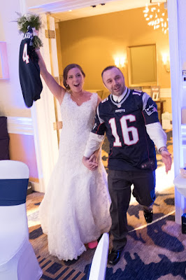 New England Patriots Bride & Groom