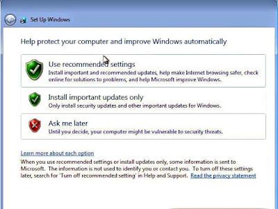 Tutorial lengkap cara install windows 7 disertai dengan gambar