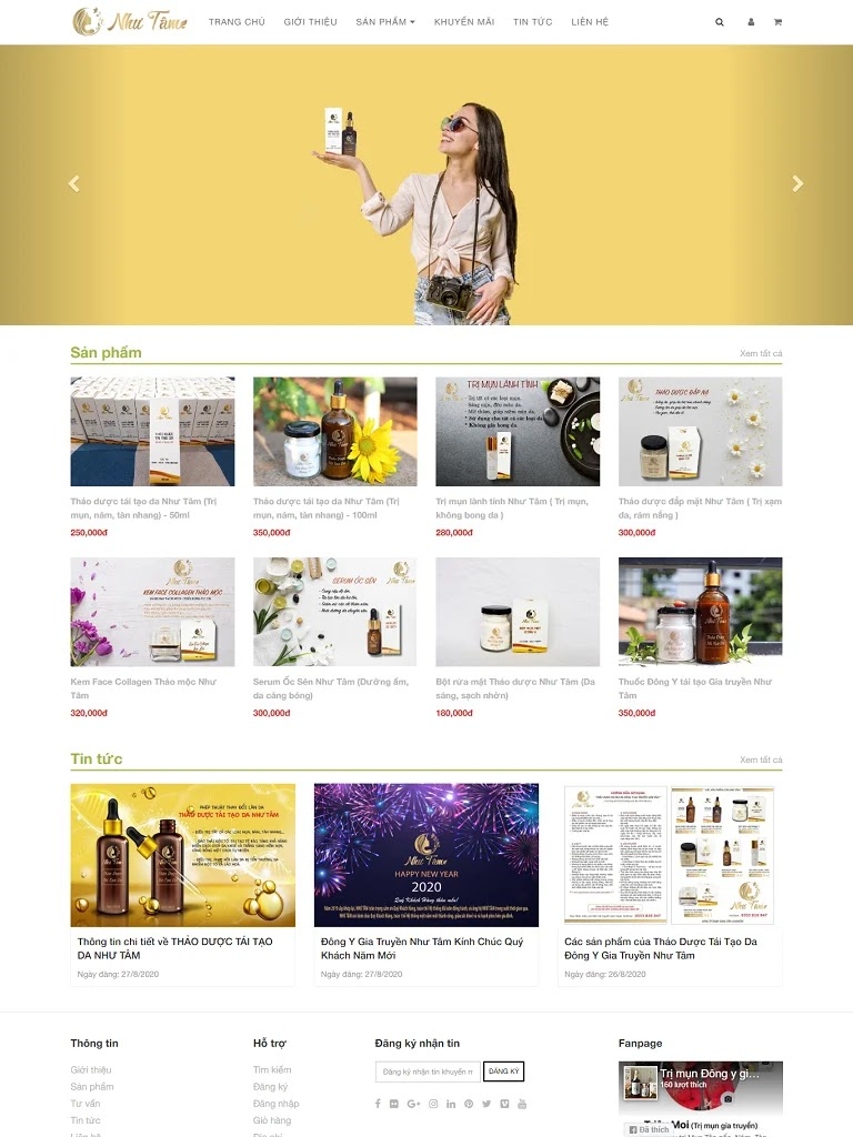 Template blogspot bán Thảo dược tái tạo da đông y gia truyền