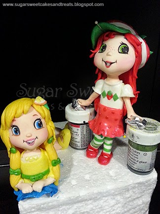 Strawberry Shortcake Figurines For Cakes