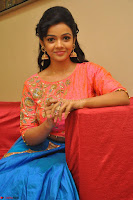 Nithya Shetty in Orange Choli at Kalamandir Foundation 7th anniversary Celebrations ~  Actress Galleries 120.JPG