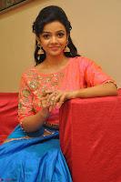 Nithya Shetty in Orange Choli at Kalamandir Foundation 7th anniversary Celebrations ~  Actress Galleries 120.JPG