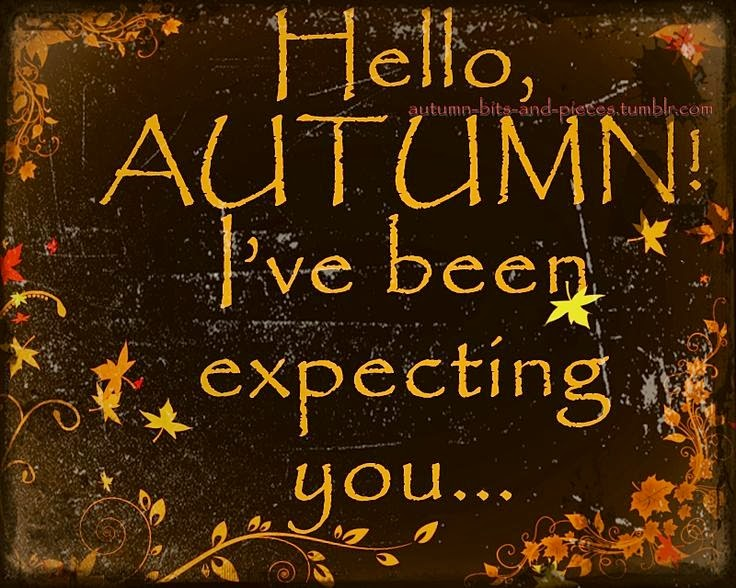 Thinking About Home: Hello, Autumn!