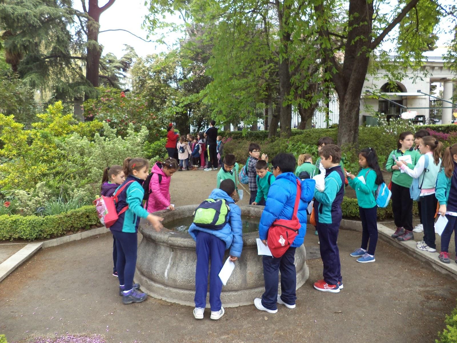 Blog del 2 ciclo del ceip ciudad de jaen visita al real for Ceip jardin botanico