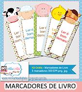 MARCADORES DE LIVROS