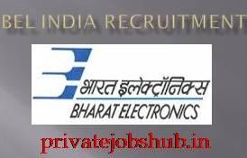 BEL India Recruitment