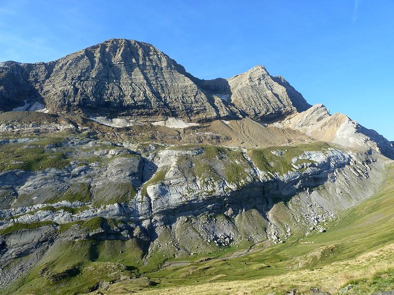 Antiguos Glaciares y erosionadas montañas