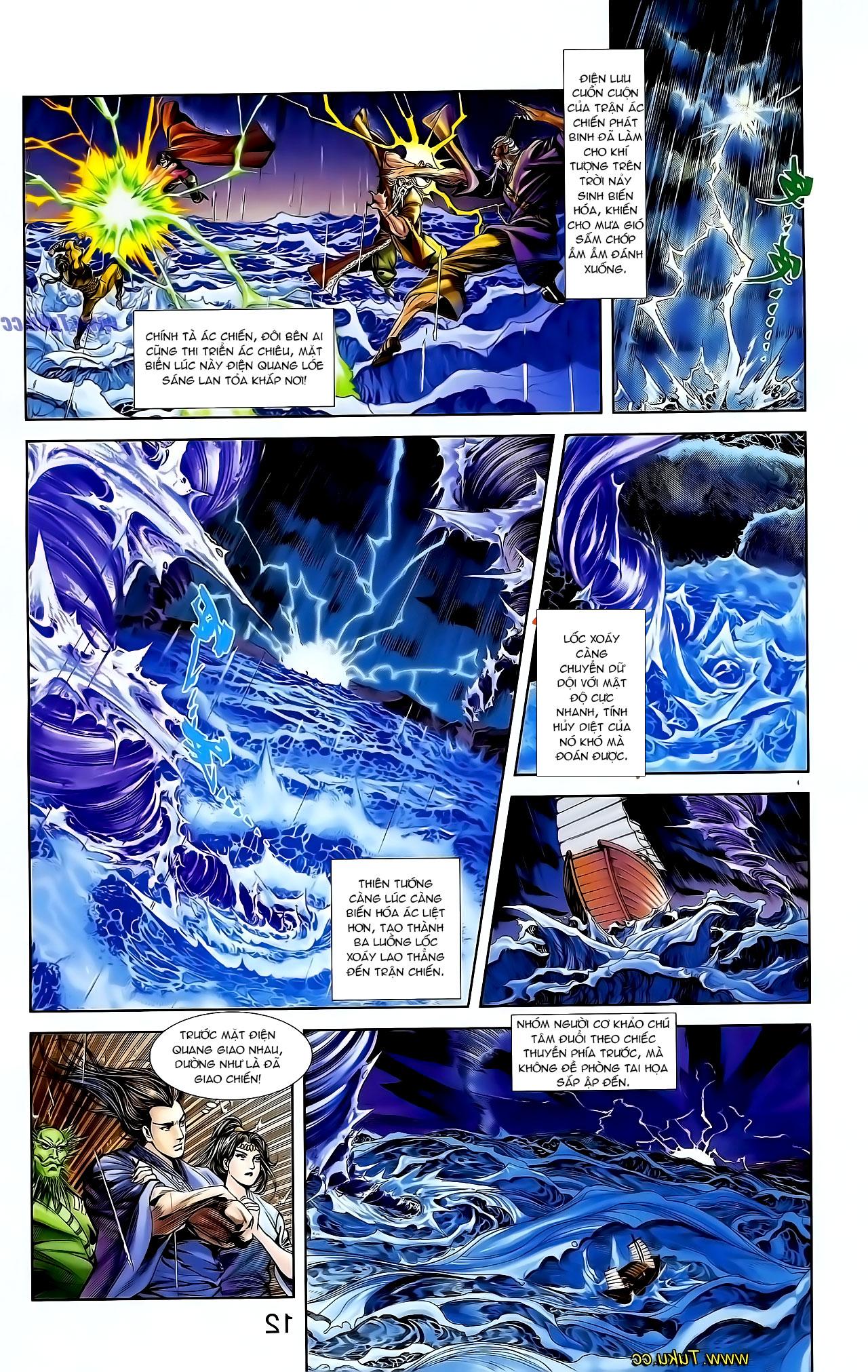 Cơ Phát Khai Chu Bản chapter 129 trang 8
