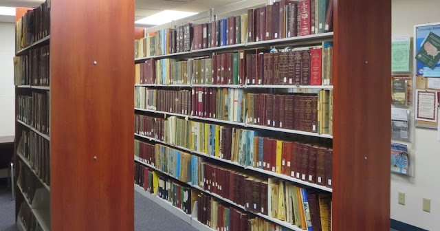Photo of Sherman Room housing City Directory collection