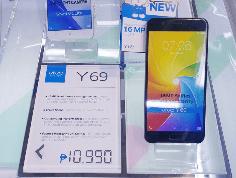 Vivo Y69 Now In PH Stores For PHP 10990!
