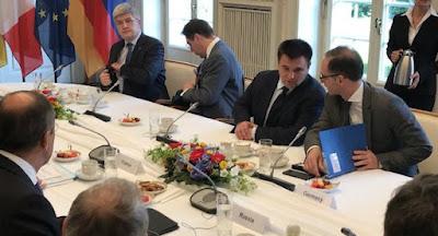 В Берлине встретились главы МИД нормандской четверки
