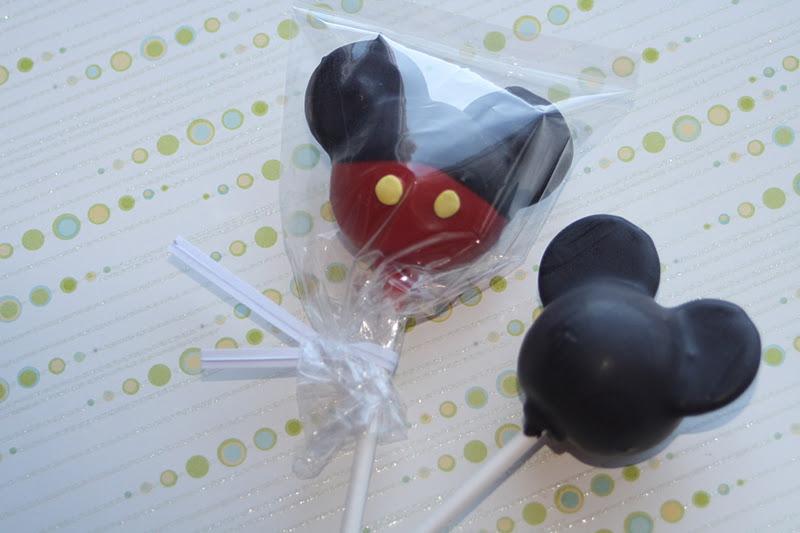 Mickey Mouse Cake Pops Bakerella