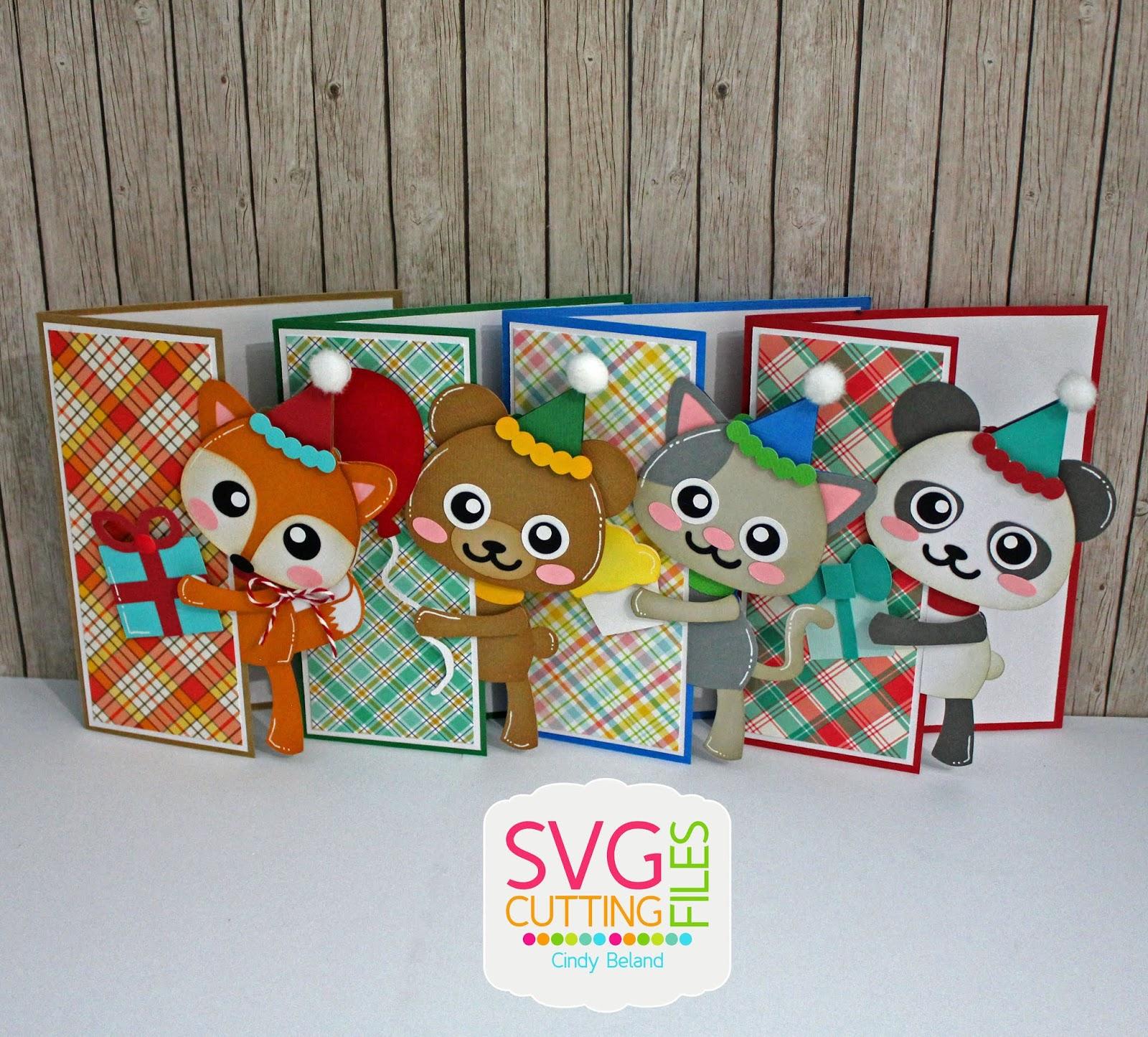 Cindy S Scraptastic Designs Fun Birthday Cards Svg Cutting Files