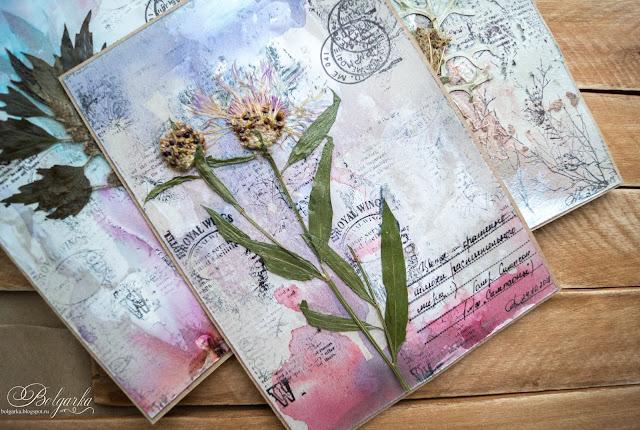 что открытки с сухоцветами своими будто