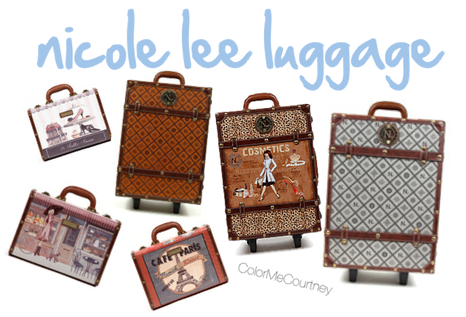 vintage luggage | Color Me Courtney