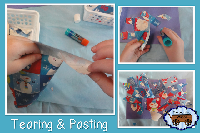http://rvclassroom.blogspot.com/2016/01/wrapping-paper-fine-motor-activities.html